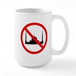 No Mosque Large Mug