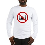 No Mosque Long Sleeve T-Shirt