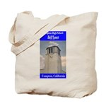 Compton High Bell Tower Tote Bag