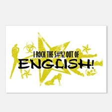 I ROCK THE S#%! - ENGLISH Postcards (Package of 8)
