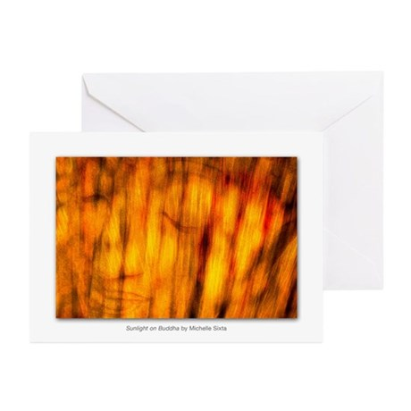 Sunlight on Buddha Greeting Cards (Pk of 20)