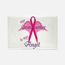 Cute Pancreatic cancer grandma Rectangle Magnet