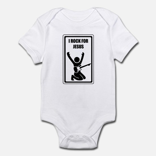 Rocking for Jesus Infant Bodysuit