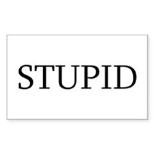 Stupid Decal