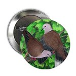 Ringneck Doves Button