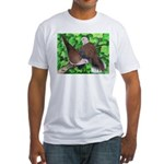 Ringneck Doves Fitted T-Shirt