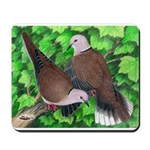 Ringneck Doves Mousepad