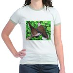 Ringneck Doves Jr. Ringer T-Shirt