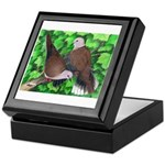 Ringneck Doves Keepsake Box