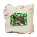 Ringneck Doves Tote Bag