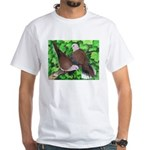 Ringneck Doves White T-Shirt