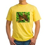 Ringneck Doves Yellow T-Shirt