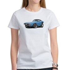 Charger Lt Blue-Black Car Tee