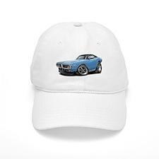 Charger Lt Blue-Black Car Baseball Cap