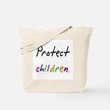 protect children Tote Bag