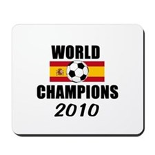 Spain 2010 World Cup Champions Mousepad