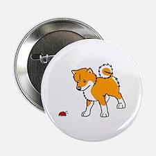 "Shiba Bug 2.25"" Button (100 pack)"