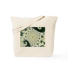 Coral Fractal Tote Bag