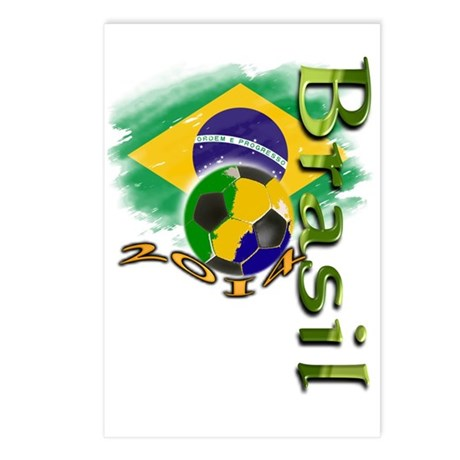 Brasil 2014 - Postcards (Package of 8)