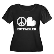 Peace Love Rottweiler T
