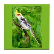 Cockatiel Tile Coaster