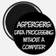 Aspergers Geek Magnet