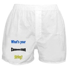 What's Your Connection String Boxer Shorts