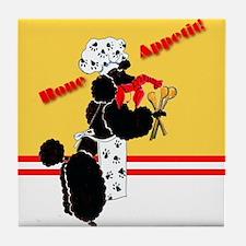 Gulliver's Bone Appetit Tile Coaster