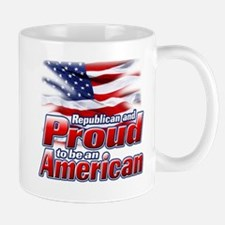Republican and Proud to be an American Mug