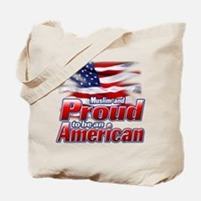 Muslim and Proud to be an American Tote Bag