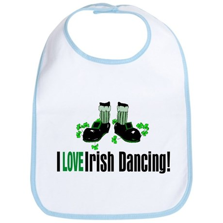 Love Irish Dance Bib