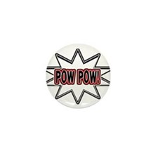 Pow Pow Mini Button