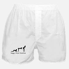 Doggy Style Evolution Boxer Shorts
