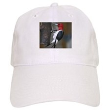 Red Headed Woodpecker Baseball Cap