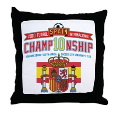 2010 Championship Throw Pillow