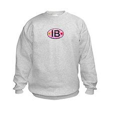 Indian Beach NC - Oval Design Sweatshirt