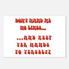 Hands To Yerself Postcards (Package of 8)