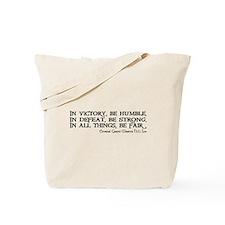 HU Lee quote Tote Bag