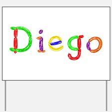 Diego Balloons Yard Sign
