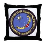 Missouri Highway Patrol Dive Throw Pillow