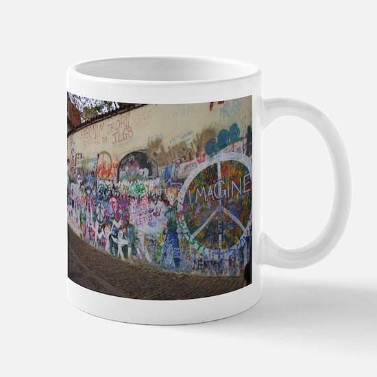 John Lennon Wall Imagine Mug