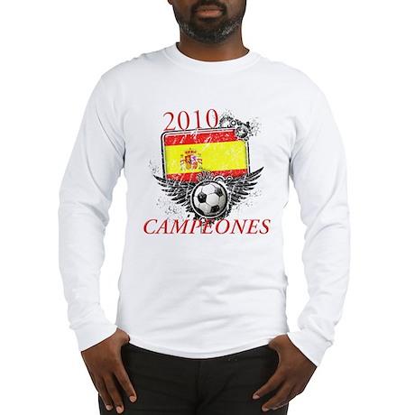 2010 Spain Campeones Long Sleeve T-Shirt