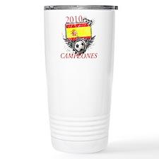 2010 Spain Campeones Travel Mug