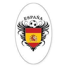 Espana Futbol Decal