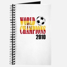 Spain 2010 World Cup Champions Journal