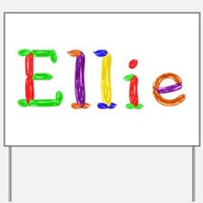 Ellie Balloons Yard Sign