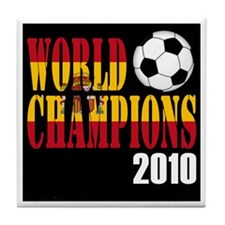 Spain 2010 World Cup Champions Tile Coaster
