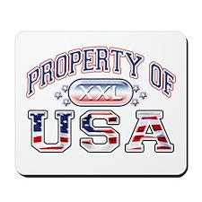 Property of USA Mousepad