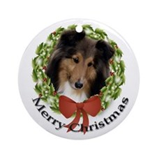 2010 Sheltie Ornament #2