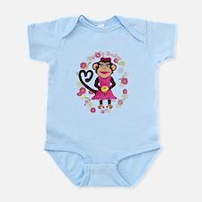 Funny Super monkey Infant Bodysuit